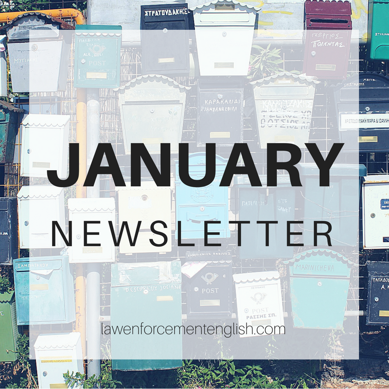 January Newsletter: Business Crime Collocations