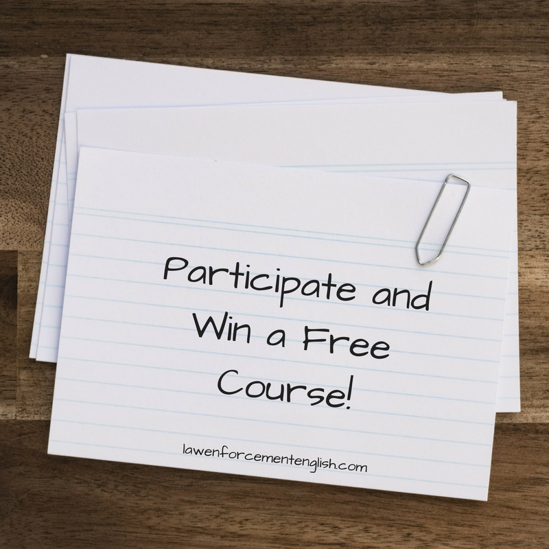 Participate and Win a Free Course!